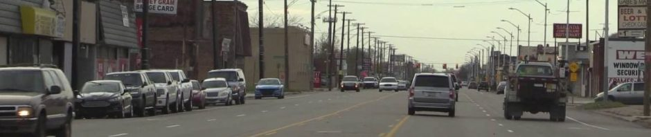 East Warren Avenue in District 4 when there were twice as many lanes as now.