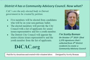 District 4 Community Advisory Council back